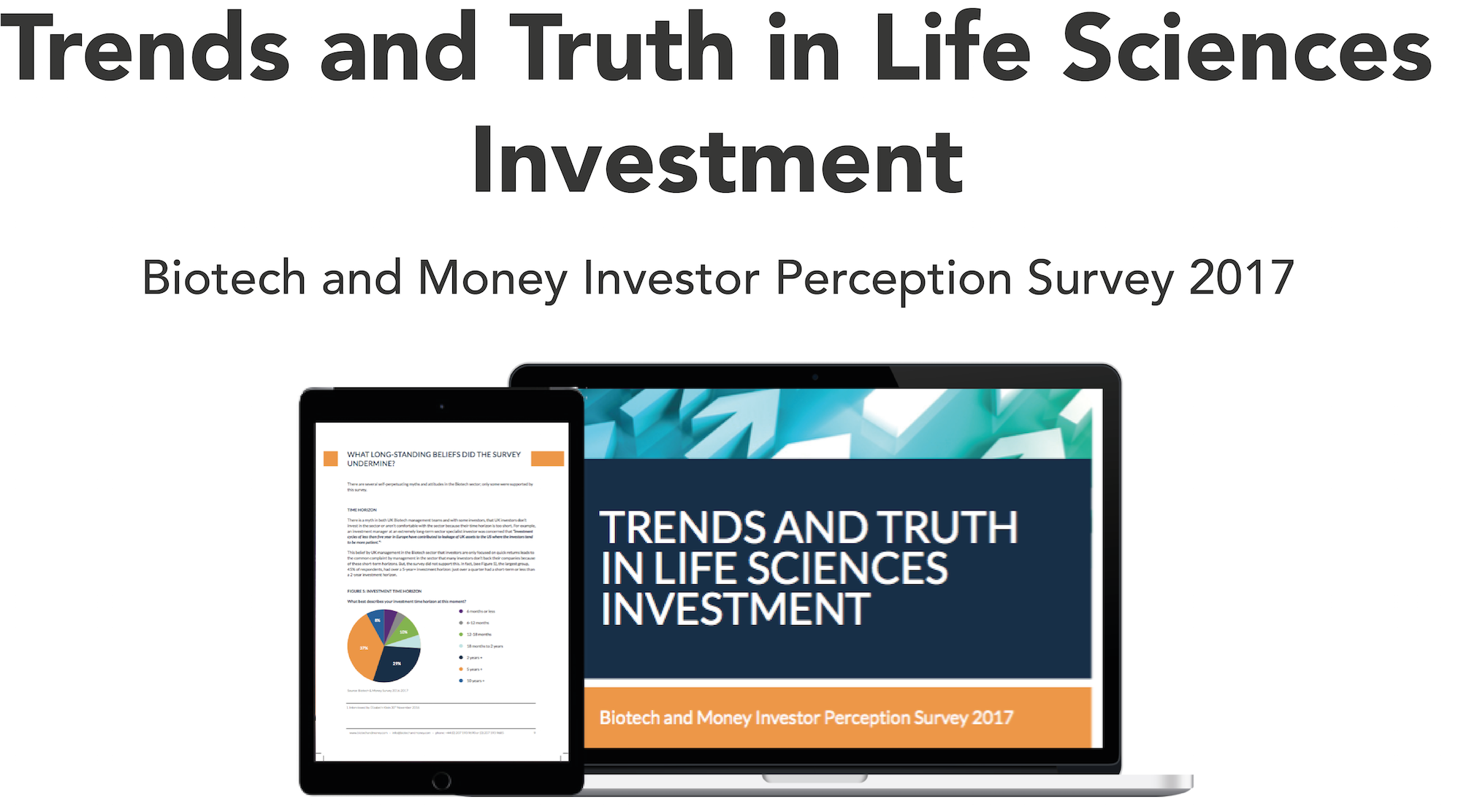 TRENDS AND TRUTH IN LIFE SCIENCES INVESTMENT