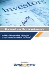 40+ MUST KNOW LIFE SCIENCE INVESTORS