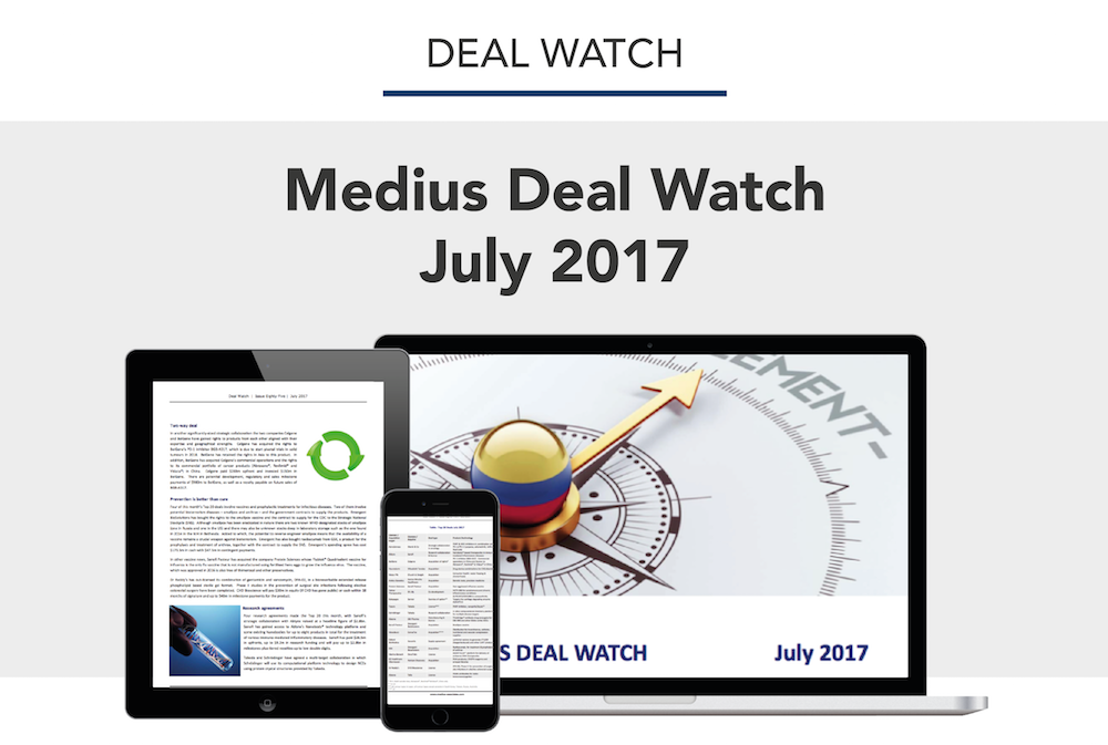 DOWNLOAD THE MEDIUS DEAL WATCH JULY 2017